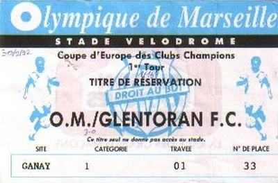 L 39 om olympique de marseille et la coupe d 39 europe champion - Coupe d europe des clubs champions 1993 ...