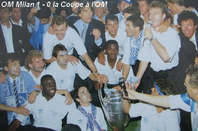 Om milan en photos coupe d 39 europe des clubs champions 1993 - Coupe d europe des clubs champions 1993 ...