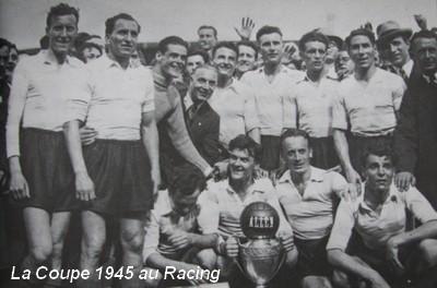 Histoire de la coupe de france saison 1944 1945 racing - Places finale coupe de france ...