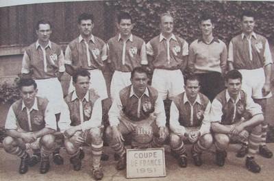 Histoire de la coupe de france saison saison 1950 1951 - Coupe de france strasbourg ...
