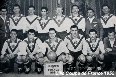 Histoire de la coupe de france saison saison 1954 1955 lille bordeaux 5 2 - France television coupe de france ...