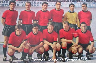 Histoire de la coupe de france saison 1964 1965 rennes for Stade du miroir