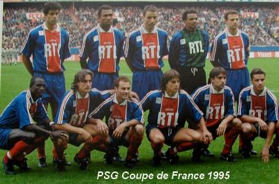 Histoire de la coupe de france saison 1994 1995 vainqueur - Coupe du monde 1994 equipe de france ...