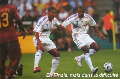 6 juillet 2006 france portugal 1 0 lilian thuram enorme - France portugal coupe du monde 2006 ...