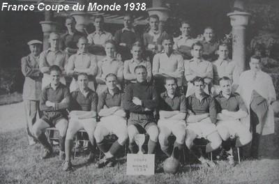 Histoire de la coupe du monde 1938 retrospective de la coupe du monde 1938 - Histoire de la coupe du monde ...