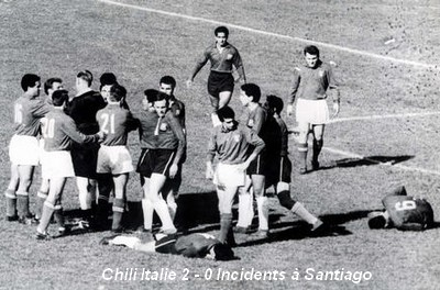 Copa do Mundo 1962: Chile x Itália (A Batalha de Santiago) 62ChiliItalie2