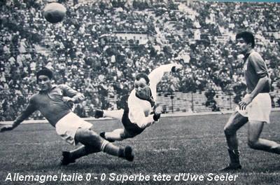 Copa do Mundo 1962: Alemanha x Itália (Compacto de 60mins) 62ItalieRFA