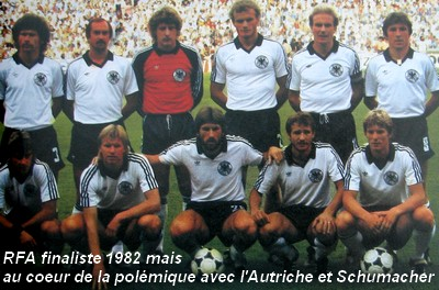 Histoire de la coupe du monde 1982 retrospective de la coupe du monde 1982 michel platini - Histoire de la coupe du monde ...