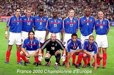 Olympique de marseille saison 1999 2000 le d part de - Equipe de france coupe du monde 2002 ...