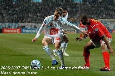 OM - OL 1/8 Кубка Франции 2007