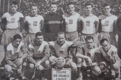 Histoire de la coupe de france saison saison 1956 1957 toulouse angers 6 3 - France television coupe de france ...