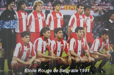 Coupe d 39 europe des champions om etoile rouge belgrade bari - Coupe d europe des clubs champions 1993 ...