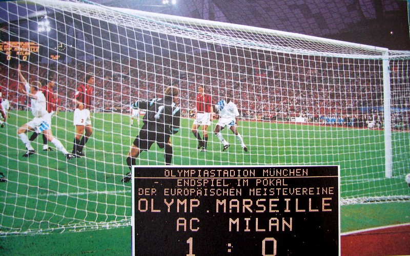 Coupe d 39 europe des clubs champions 1993 om milan but de - Coupe d europe des clubs champions 1993 ...