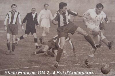 Stade Français OM 1951 Championnat de France de FootBall ...