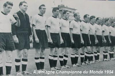 Histoire de la coupe du monde 1954 retrospective de la coupe du monde 1954 - Vainqueur coupe du monde football ...