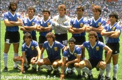 Argentine angleterre 2 1 le but du si cle le chef d - Finale coupe du monde 1986 ...